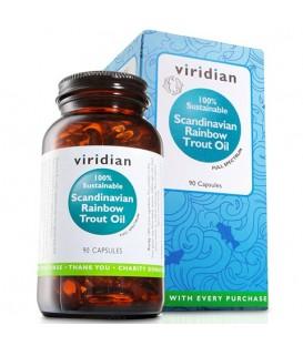 Olej ze Skandynawskiego Pstrąga Tęczowego w kapsułkach (90 kapsułek) suplement diety Viridian