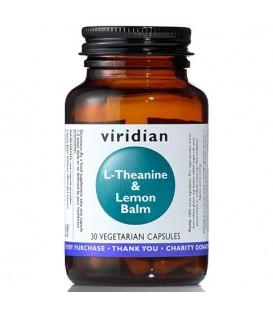 L-Theanine and Lemon Balm (30 kapsułek) suplement diety Viridian