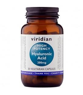 Kwas hialuronowy 200 mg (30 kapsułek) suplement diety Viridian