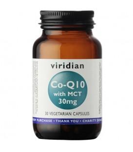 Koenzym Q10 30 mg z MCT (30 kapsułek) suplement diety Viridian