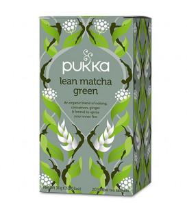 Pukka Lean Matcha Green BIO ( fenkuł, imbir, cynamon, owoc Triphala ) 20 sasz. Pukka