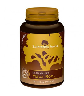 MACA BIO ( 120 kapsułek x 500 mg) Rainforest Foods