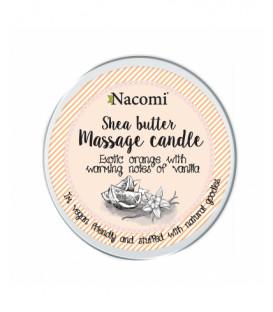 Świeczka Naturalny balsam w świecy Pomarańcza - wanilia 150 g Nacomi