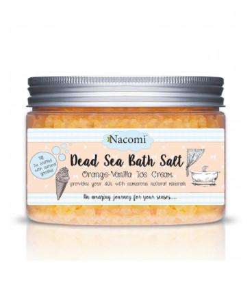 Sól do kąpieli Pomarańcza-wanilia 450 g Nacomi