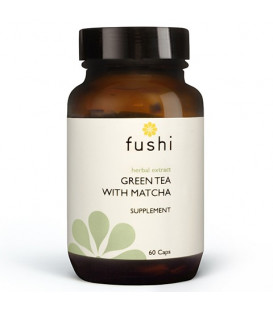 Green Tea Extract with Matcha (500mg High Strength) 60 kapsułek FUSHI