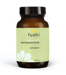 Ashwagandha BIO, 60 kapsułek FUSHI