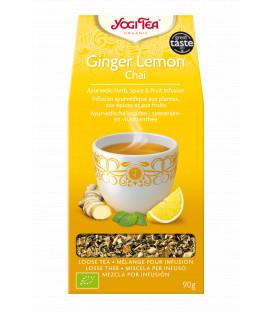 Herbata CHAI Imbirowo-Cytrynowa Bio Sypana 90g YOGI TEA