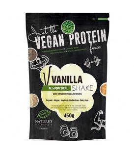 Bio Koktajl białkowy o smaku waniliowym 450g NutrisSlim