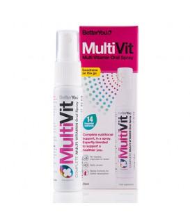 MultiVit Multiwitamina w sprayu (25 ml) Better You