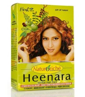 Heenara Henna do Włosów Kolor Miedziany 100g Hesh