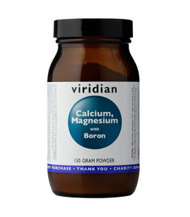 Wapń, Magnez i Bor (150g) suplement diety Viridian
