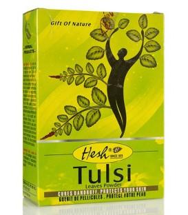 Tulsi Puder do Włosów 100g Hesh - włosy przetłuszczające się i wypadające
