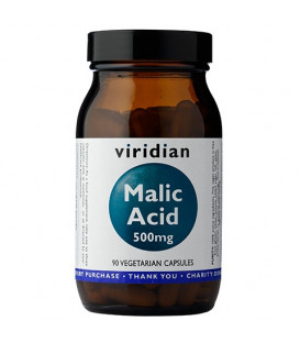 Malic Acid (90 kapsułek) suplement diety Viridian