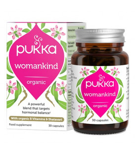 Womankind with organic B Vitamins & Shatavari