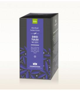 BIO Herbata Trzy rodzaje Tulsi 20 saszetek x 1,8g Cosmoveda