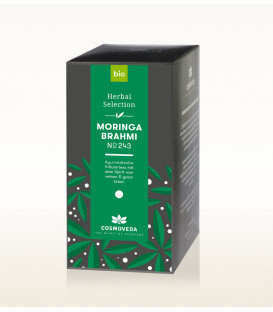 BIO Herbata Moringa & Brahmi 17 saszetek x 1,8g Cosmoveda