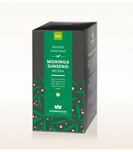 BIO Herbata Moringa & Żeńszeń 20 saszetek x 1,8g Cosmoveda