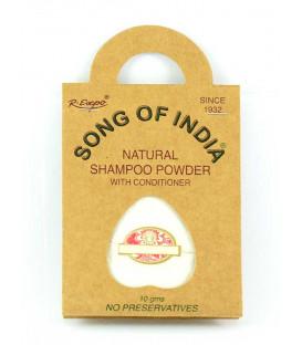 Szampon Podróżny w saszetce NEEM & BAZYLIA INDYJSKA, 30g (3x10g) Song of India
