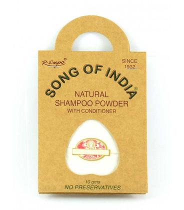 Szampon Podróżny w saszetce NEEM & BAZYLIA INDYJSKA, 10g Song of India