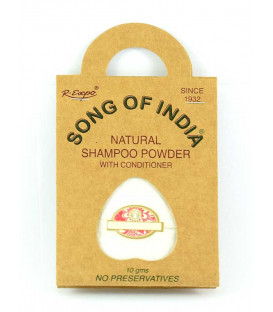 Szampon Podróżny w saszetce WANILIA, 30g (3x10g) Song of India