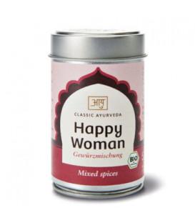 Mieszanka BIO przypraw orientalnych Happy Woman, 50g Classic Ayurveda