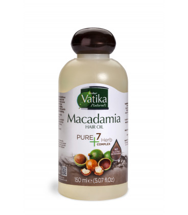 Oliwka do włosów Vatika Pure Plus- Makadamia 150ml