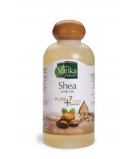 Oliwka do włosów Vatika Pure 7 herbs- Masło Shea 150ml Dabur