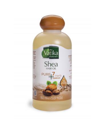 Oliwka do włosów Vatika Pure Plus- Masło Shea 150ml Dabur