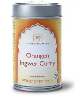 Przyprawa BIO Orange Ginger Curry, 50 g Classic Ayurveda