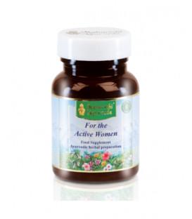 Suplement diety - Dla aktywnej kobiety Rasayana, 60 tabletek, Maharishi