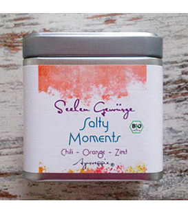 "Salty Moments ""Chili-Orange-Cinnamon"" organic, 150 g Tinbox"
