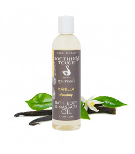 Olejek do masażu i kąpieli Vanilla Body Spa Oil, 236 ml Soothing Touch