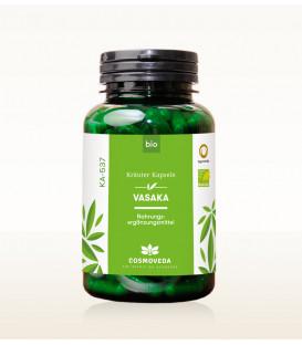 BIO Vasaka - Astma, Alergia, Układ oddechowy, 80 kapsułek, suplement diety, Cosmoveda