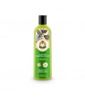 Szampon do włosów cedrowy do suchych i osłabionych 280 ml BABUSZKA AGAFIA