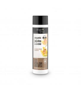 Szampon do włosów rozświetlający kolor Złota Orchidea 280 ml ORGANIC SHOP