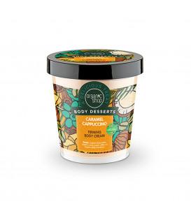 Krem do ciała ujędrniający Karmelowe Cappuccino 450 ml