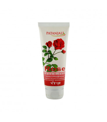 Patanjali Rose Face Wash 60g