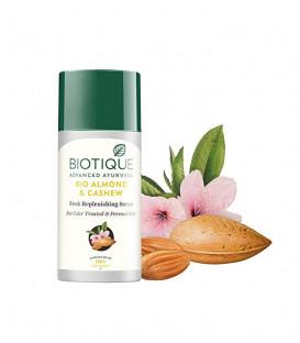 BIO Serum do włosów farbowanych bez spłukiwania - Migdały i Orzechy Nerkowca 40ml Biotique