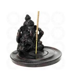 Figurka Ganesha w koronie do kadzideł