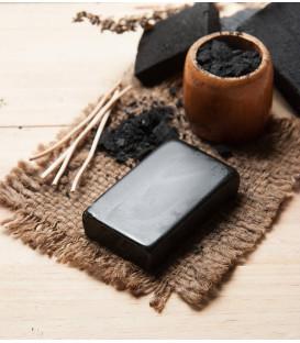 Mydełko roślinne oczyszczające z Węglem i Bambusem 100g  Song of India