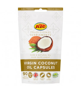 Suplement diety Virgin Coconut Oil Capsules 90 kapsułek x 1000mg KTC