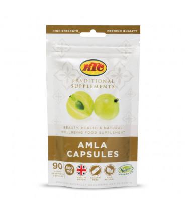 Suplement diety Amla - 90 kapsułek x 500mg KTC