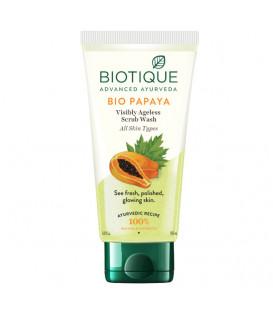 Żel do mycia twarzy delikatnie złuszczający Bio Papaya 100ml Biotique