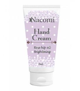 Krem do rąk - nawilżający Dzika róża & olejek migdałowy 85ml Nacomi