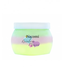 Rainbow mousse do ciała  200 ml Nacomi