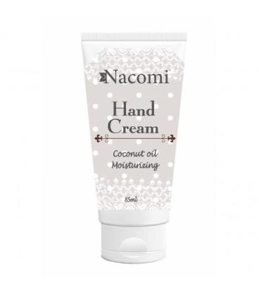 Krem do rąk - Nawilżający olejem kokosowym 85 ml Nacomi