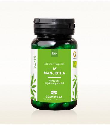 BIO Manjistha, 80 kapsułek, Cosmoveda - suplement diety