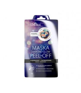 LBT L'biotica PEEL OFF Maska Diamond GLOW Ujędrnienie Odświeżenie 10g