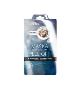LBT L'biotica PEEL OFF Maska Silver GLOW Wygładzenie Rozświetlenie 10g