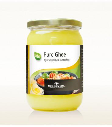 BIO Ghee - masło klarowane 500g Cosmoveda - do smażenia w wysokiej temperaturze